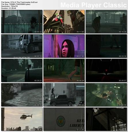 دانلود انیمیشن زیبای GTA IV: The Trashmaster 2010