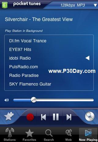 گوش دادن به تمامی رادیو های دنیا در موبایل آیفون با Pocket Tunes Radio 3.5.5