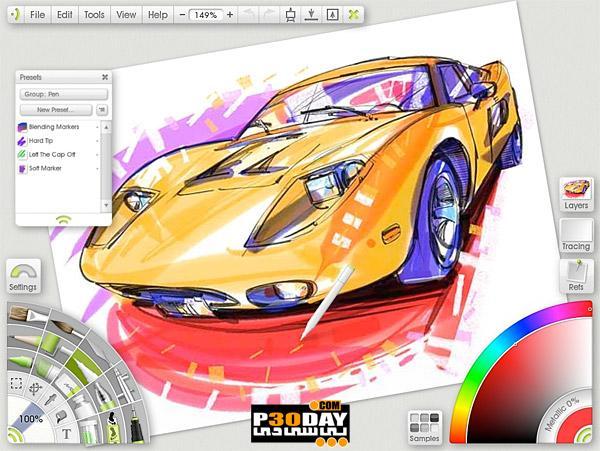 نقاشی کشیدن با نرم افزار ArtRage Studio Pro v3.5.0