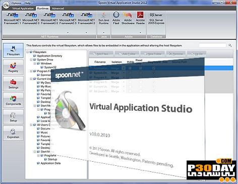 برنامه تبدیل فایلهای قابل نصب به پرتابل Spoon Studio 2012 v10.0.2010