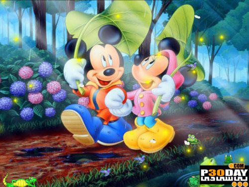 اسکرین سیور کارتونی و بسیار زیبای Disney Screensaver
