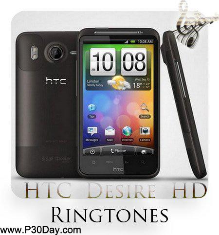 مجموعه 80 صدای زنگ اوریجینال گوشی HTC Desire HD