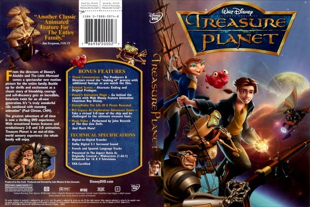 دانلود انیمیشن زیبای سیاره گنج Treasure Planet 2002