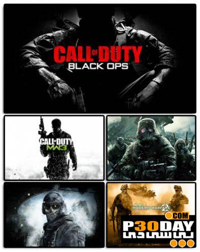 اسکرین سیور فوق العاده زیبای ندای وظیفه Call Of Duty Screensaver