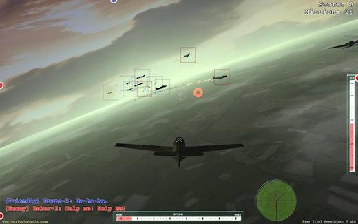 مبارزه بر فراز آسمانها در بازی Flight For Fight