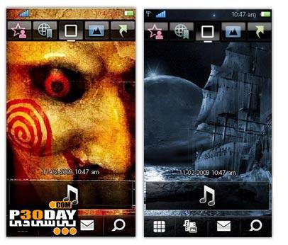 دانلود تم شبح در کشتی و فیلم اره برای سیمبیان سری 60 ورژن 5