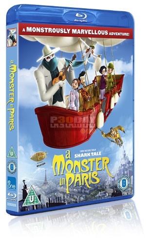 دانلود دوبله فارسی انیمیشن A Monster In Paris 2011