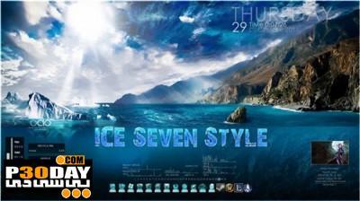دانلود تم مخصوص ویندوز سون ICE Seven Style – Theme for Windows 7