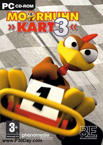 دانلود بازی مرغ های راننده Moorhuhn Kart 3