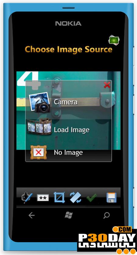 اسکن عکس و اسناد در موبایل ویندوز فون با DIGI SCAN v1.2