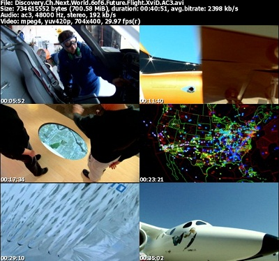 مستند جهان آینده قسمت ششم Discovery Channel Next World Future Flight