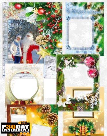 دانلود قاب آماده عکس Set the Framework for Holiday Pictures