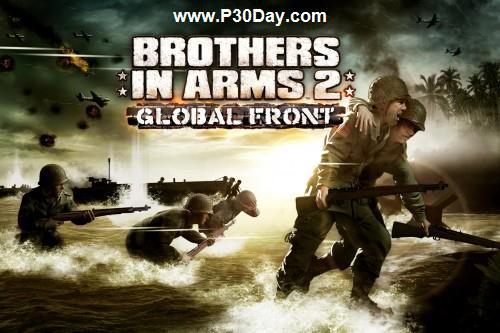 دانلود بازی آندروید فوق العاده Brothers In Arms 2: Global Front HD