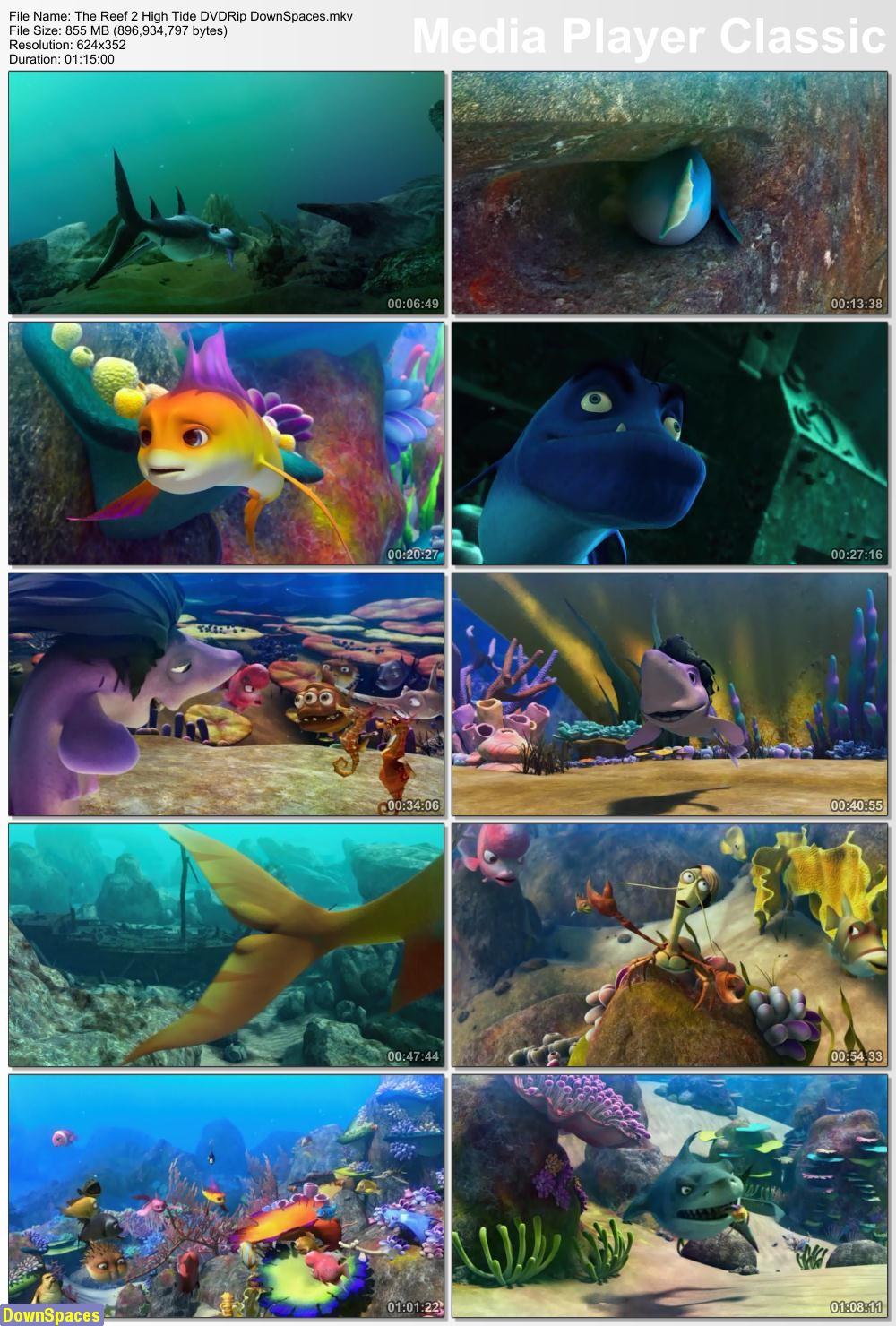 دانلود انیمیشن The Reef 2: High Tide 2012