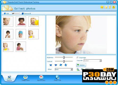 نرم افزار طراحی گالری فلش Thundersoft Flash Slideshow Factory 2.8.1