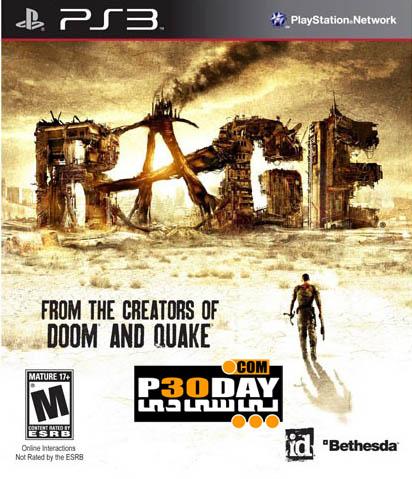 دانلود بازی Rage برای PS3 با لینک مستقیم