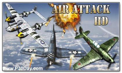 دانلود بازی هواپیما جنگی آندروید AirAttack HD v1.5.1