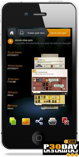 دانلود نرم افزار قدرتمند مشاهده آفیس Smart Office 2 v2.0.14 آیفون