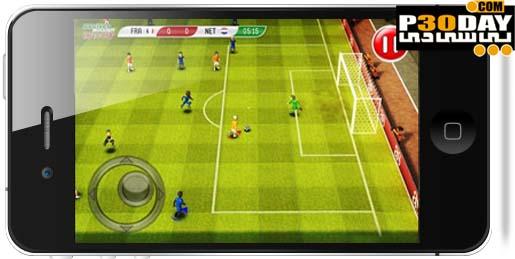 دانلود بازی فوق العاده زیبای Striker Soccer Euro 2012 v1.0 آیفون