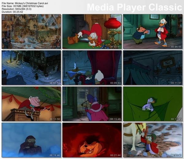 دانلود انیمیشن Mickey's Christmas Carol 1983