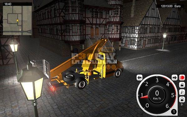 دانلود بازی شبیه سازی ماشین های شهرداری Utility Vehicles Simulator 2012