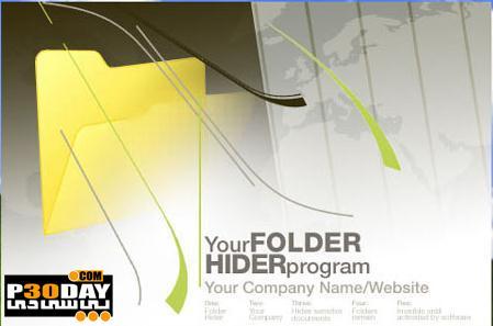 نرم افزار مخفی سازی اطلاعات مهم سیستم Secure Folder Hider v2.8