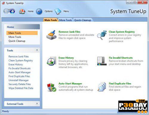 نرم افزار بهینه سازی سیستم Acelogix Software System TuneUp 3.0.0.434