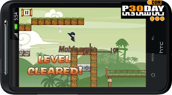 دانلود بازی هیجانی و فوق العاده جذاب Yoo Ninja v1.9 آندروید