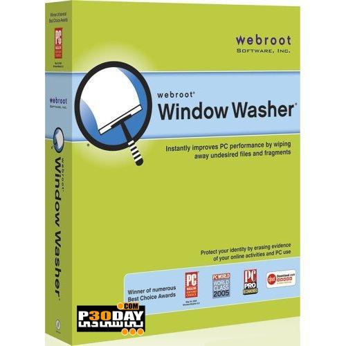 دانلود برنامه بهینه ساز و امنیتی Webroot Window Washer 6.6.1.18