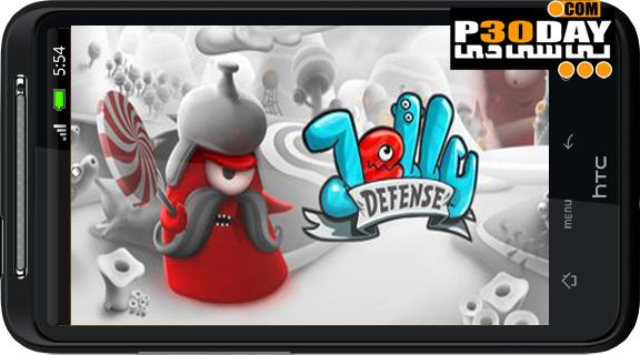 دانلود بازی فوق العاده زیبا و اکشن Jelly Defense آندروید