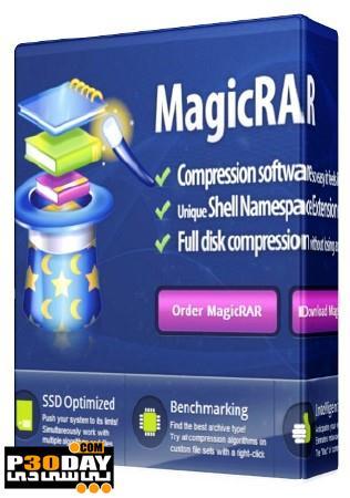 نرم افزار مدیریت فایلهای فشرده MagicRar 6.0 Build 4.1.2012.8320