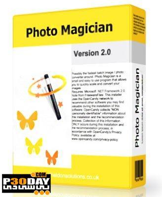 برنامه تغییر اندازه و فرمت تصاویر Photo Magician 2.2.0.0