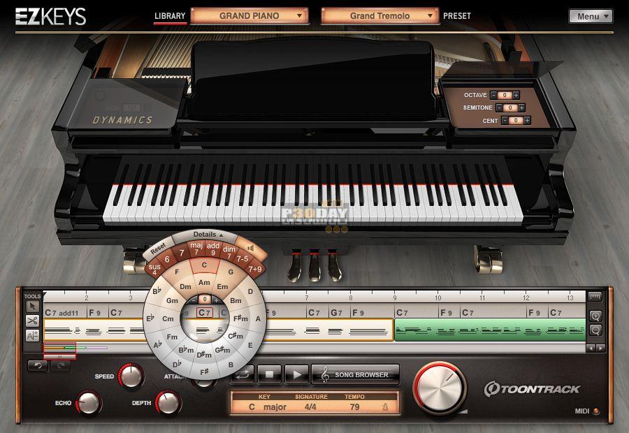 دانلود مجموعه میکس و ترکیب آهنگ Toontrack - EZkeys Grand Piano v1.0.1 + Player