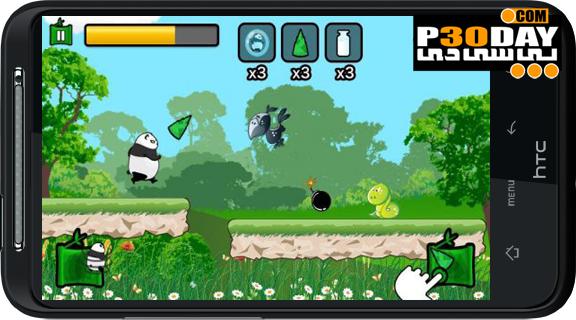 دانلود بازی هیجانی و زیبای Running Panda v1.2.0 آندروید