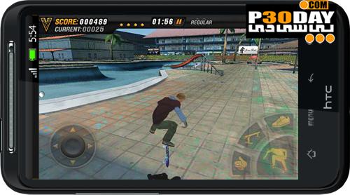 دانلود بازی اسکیت بورد آندروید Mike V Skateboard Party HD v1.02