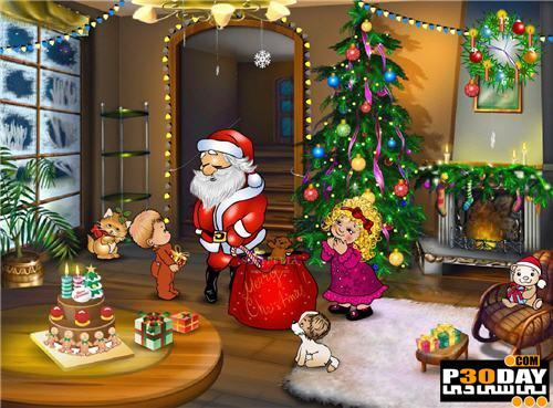 دانلود اسکرین سیور متناسب با کریسمس Christmas Entourage 1.0