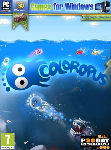 دانلود بازی ماجراجویانه Coloropus v1.0.20120319