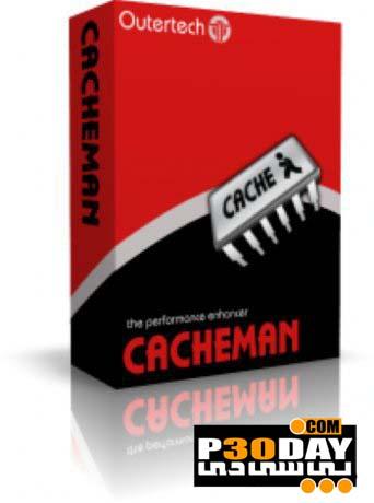 دانلود Outertech Cacheman 10.60.0 - نرم افزار بهینه سازی حافظه موقت