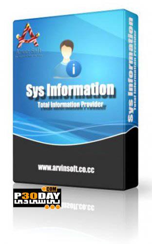 دانلود نرم افزار نمایش اطلاعات کامپیوتر Sys Information 5.3 Portable