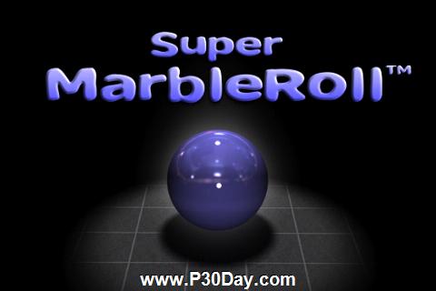 دانلود بازی زیبای آیفون Super MarbleRoll 1.4