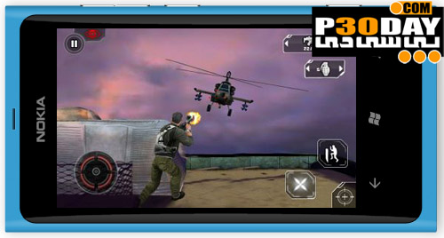 بازی فوق العاده زیبا و اکشن Splinter Cell: Conviction HD ویندوز موبایل 7