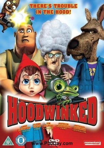 دانلود انیمیشن Hoodwinked 2005 با لینک مستقیم