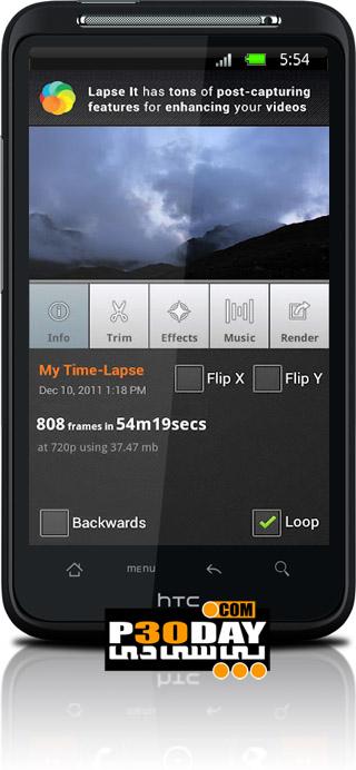دانلود نرم افزار عکس برداری سریع Lapse It Pro v3.0 آندروید