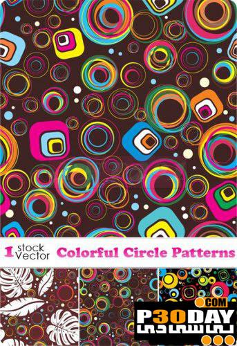 دانلود مجموعه پترن های جدید و بسیار زیبای Colorful Circle