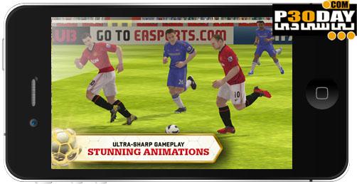 دانلود بازی Fifa 13 برای موبایل آیفون