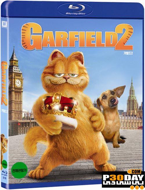 دانلود دوبله فارسی انیمیشن Garfield: A Tail of Two Kitties