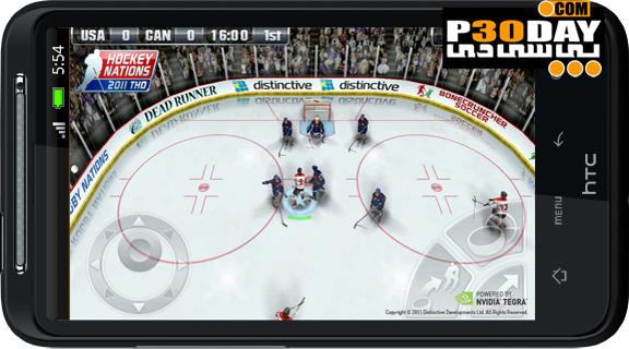 دانلود بازی هاکی روی یخ آندروید Hockey Nations 2011 v1.04