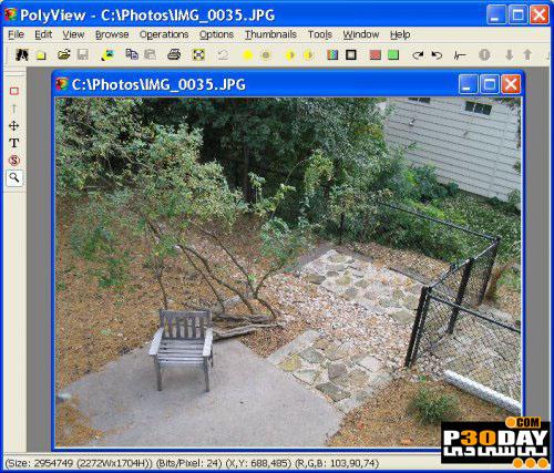 دانلود نرم افزار ویرایش و تبدیل فرمت تصاویر PolyView 4.44