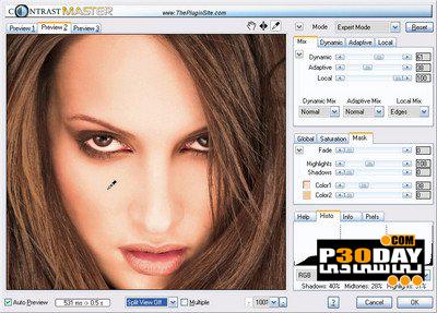 پلاگین تنظیم کنتراست عکس ContrastMaster v1.06 برای فتوشاپ