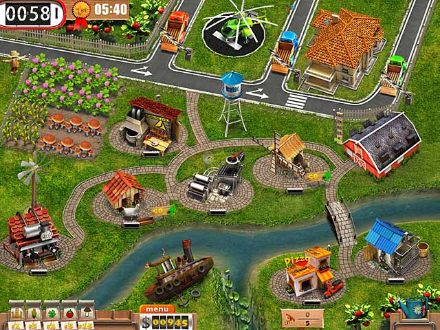 دانلود بازی مهیج مزرعه داری TvFarm v1.0